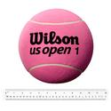9 Inch Jumbo Pink Tennis Ball Deflated