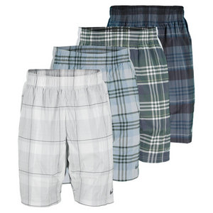 NIKE MENS GLADIATOR 10 INCH PLAID SHORT