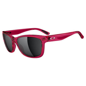OAKLEY WOMENS FOREHAND SUNGLASSES PINK/BLACK