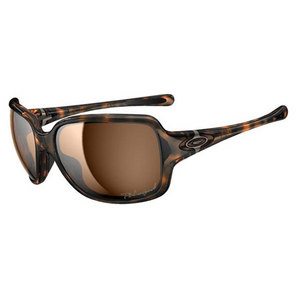 OAKLEY WOMENS BREAKPOINT SUNGLASSES TORTOISE/BZ