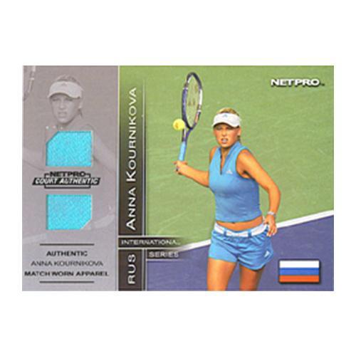 Anna Kournikova Jersey Card