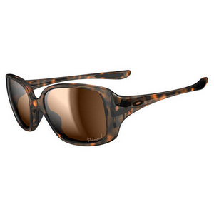 OAKLEY WOMENS LBD SUNGLASSES TORTOISE/BRONZE