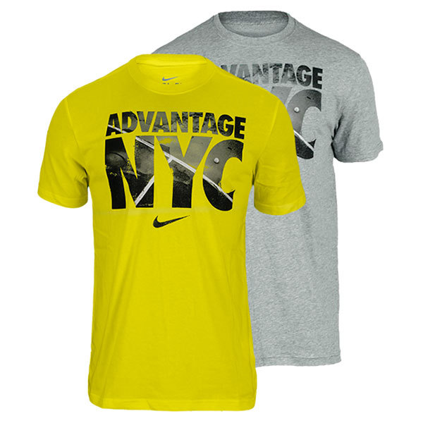 Men's Advantage Nyc Dri Fit Cotton Tennis Tee