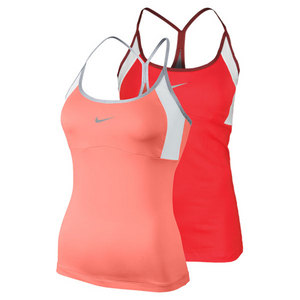 NIKE WOMENS STRAPPY KNIT TENNIS TANK