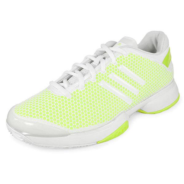 Women's Stella Mccartney Barricade Tennis Shoes Yellow And White