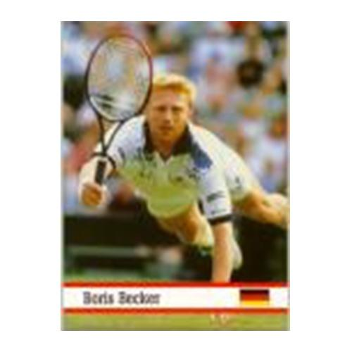 Boris Becker World Of Sports Card