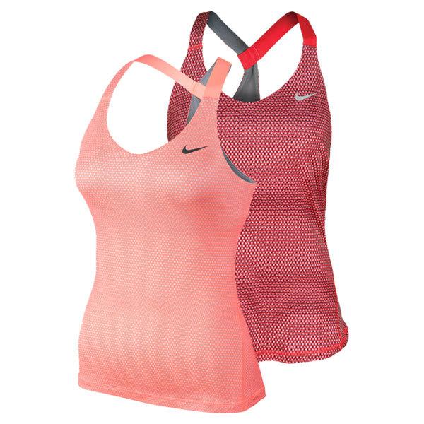Women's Printed Knit Tennis Tank