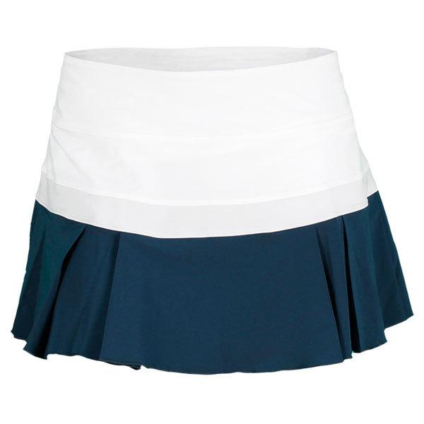 Nike Women`s Woven Pleated Tennis Skirt Xlarge 101_White/Geyser_Gy