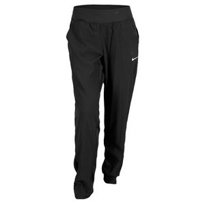 NIKE WOMENS WOVEN TENNIS PANT BLACK