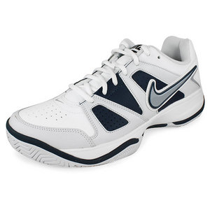 NIKE MENS CITY COURT VII TENNIS SHOES WH/GY