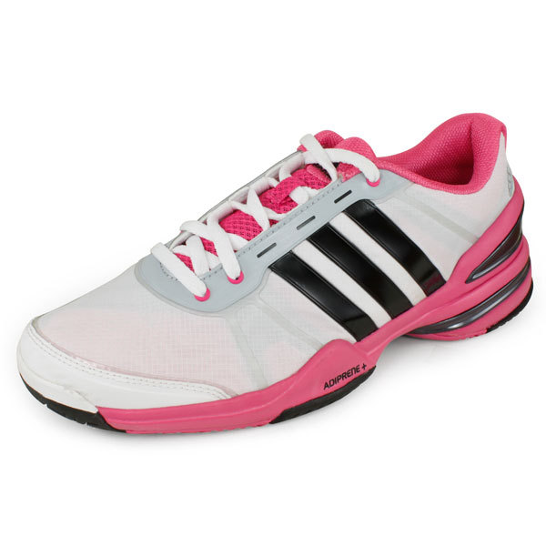 Women's Response Cc Rally Comp Tennis Shoes White And Pink