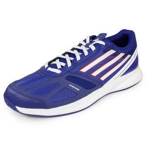 adidas MENS ADIZERO ACE II SHOES HERO INK/WHITE