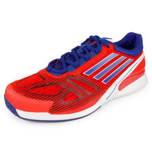 adidas MENS CC ADIZERO FEATHER II SHOES RED