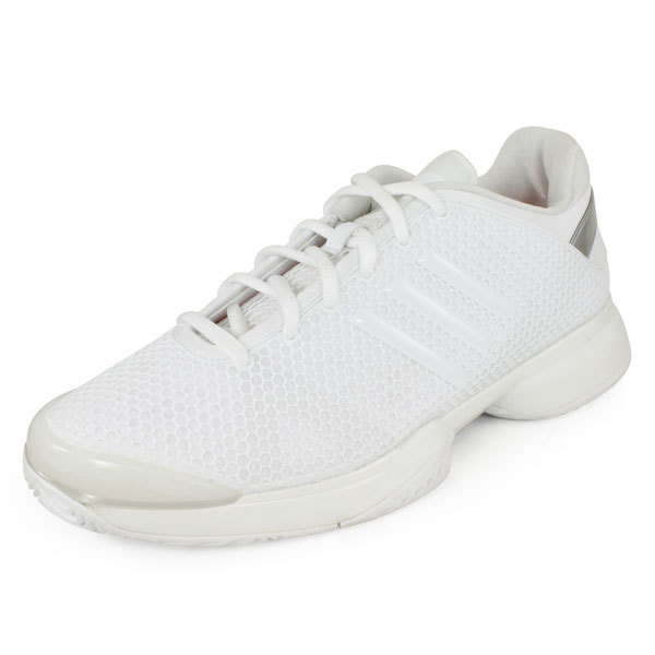 Women`s Stella McCartney Barricade Tennis Shoes White and Silver