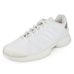 adidas WOMENS STELLA BARRICADE SHOES WHITE/SILV