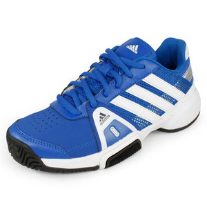 adidas JUNIORS ADIPOWER BARRICADE TEAM SHOES BL