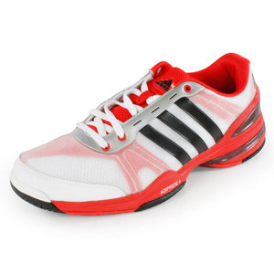 adidas MENS RESPONSE CC RALLY COMP SHOES WH/RD