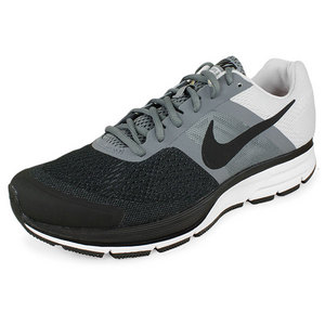NIKE MENS AIR PEGASUS+ 30 RUN SHOES GRAY/BK