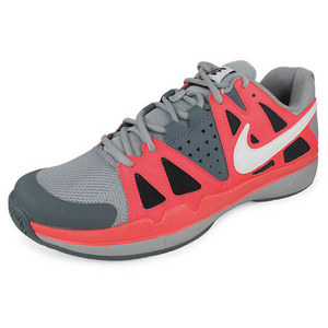NIKE MENS AIR VAPOR ADVANTAGE SHOES GY/RD