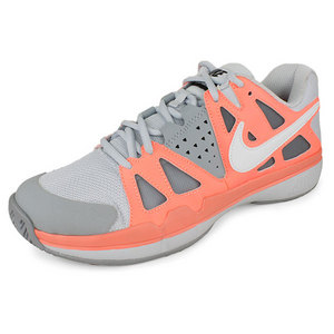 NIKE WOMENS AIR VAPOR ADVANTAGE SHOES GY/PINK