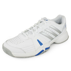 adidas MENS BERCUDA 3 SHOES WHITE/SILVER