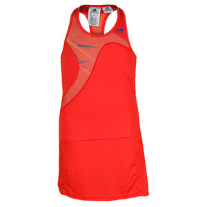 adidas GIRLS ADIZERO TENNIS DRESS HI-RES RED