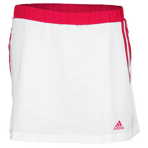 adidas GIRLS RESPONSE TENNIS SKORT WHITE