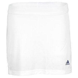 adidas GIRLS ADIZERO TENNIS SKORT WHITE