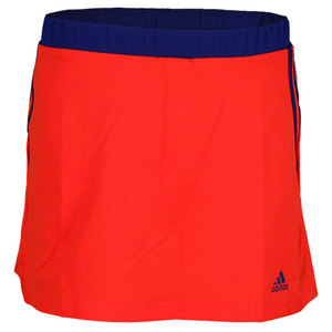 adidas GIRLS RESPONSE TENNIS SKORT HI-RES RED