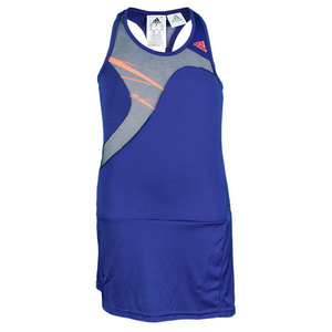 adidas GIRLS ADIZERO TENNIS DRESS HERO INK