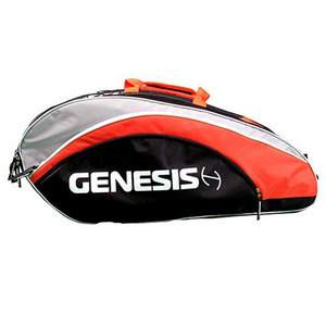 GENESIS TOUR TWELVE PACK TENNIS BAG BLACK/ORANGE