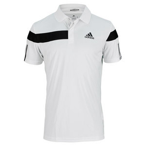 adidas MENS ADIPOWER BARRICADE POLO WHITE