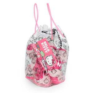HELLO KITTY PRESSURELESS PRACTICE TENNIS BALLS 12 PK