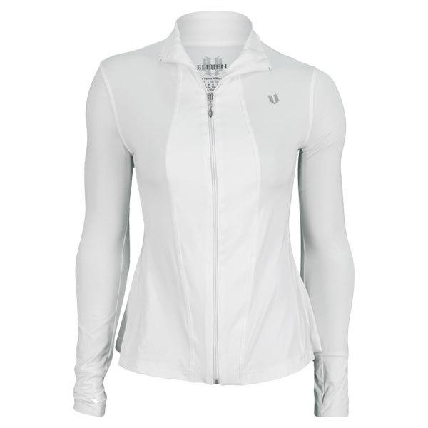 Women's Love Game Tennis Jacket White