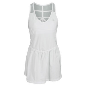 ELEVEN WOMENS LONDON TENNIS DRESS WHITE