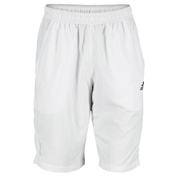 Men's Adipower Barricade Bermuda 11.5 Inch Tennis Short White