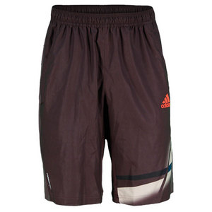 adidas MENS ADIZERO PLUS BERMUDA SHORT BURGNDY