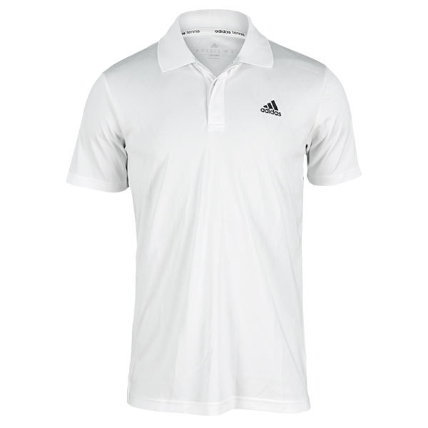 Men's Tennis Sequencials Engineered Polo White