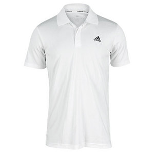 adidas MENS TS ENGINEERED POLO WHITE