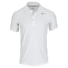 NIKE Men`s Advantage UV Tennis Polo White/Gray