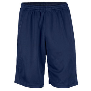 REEBOK MENS TRAINING KNIT TENNIS SHORT NAVY