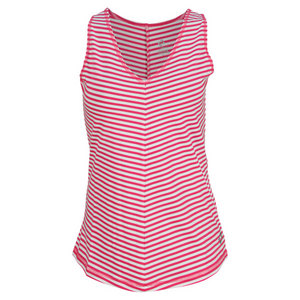 JOFIT WOMENS MOROCCO SLEEK V STRIPED TANK RASP