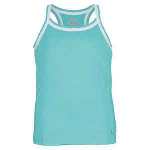 FILA GIRLS MATCH RACERBACK TENNIS TANK GREEN