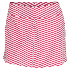 JOFIT WOMENS MOROCCO STRIPED SWING SKORT RASP