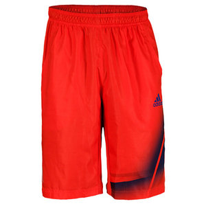 adidas MENS ADIZERO BERMUDA SHORT HI-RES RED