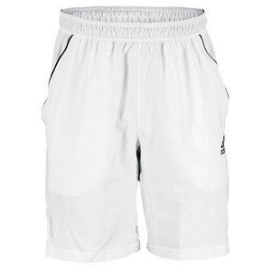 adidas MENS ADIPOWER BARRICADE SHORT WHITE