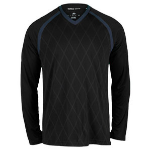 adidas MENS TS ENGINEERED LONG SLEEVE TEE BLACK