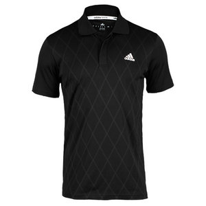 adidas MENS TS ENGINEERED POLO BLACK