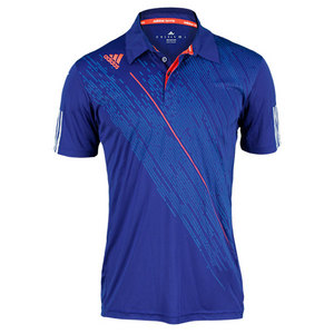 adidas MENS CLIMACOOL TENNIS POLO HERO INK