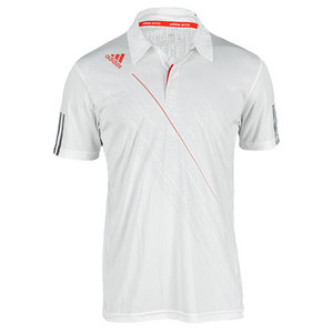 adidas MENS CLIMACOOL TENNIS POLO WHITE